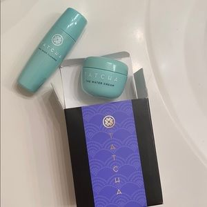 Tatcha The Deep Cleanse & The Water Cream sample